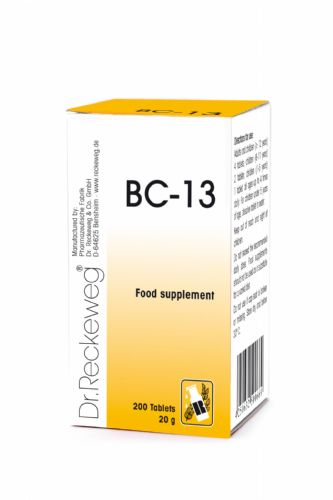Schuessler BC13 combination cell salt - tissue salt